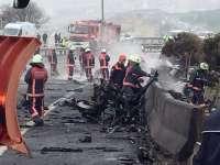 Cinci morți după prăbușirea unui elicopter la Istanbul