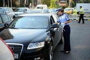 Circulaţie: Amenzi de peste un milion de lei aplicate şoferilor într-o singură zi