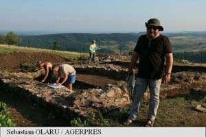 Clădire impresionantă descoperită în fostul oraș roman Porolissum din Sălaj