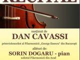 """Club Rotary Sighet vă invită la RECITALUL susținut de DAN CAVASSI primvioloncelist al Filarmonicii """"George Enescu"""" din Bucureşti"""