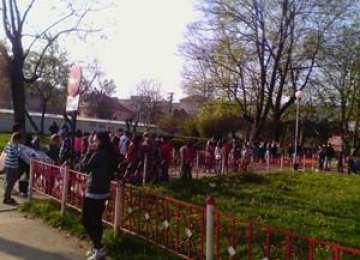 Școala Dr. Ioan Mihalyi de Apșa a participat la proiectul de ecologizare din Sighetu Marmației