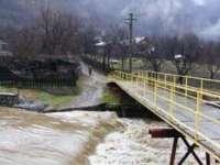 Cod Galben de inundații în 10 județe, inclusiv Maramureș, începând de marți dimineață