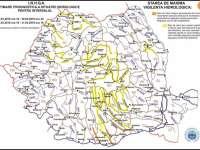 Cod galben de inundaţii în Maramureş în perioada 30-31 martie 2018