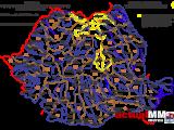 Cod galben de inundaţii pentru bazinele hidrografice Vişeu şi Iza până vineri, la ora 10.00