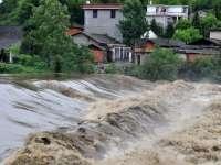Cod Portocaliu de inundații pe râuri din 10 județe, până sâmbătă la prânz