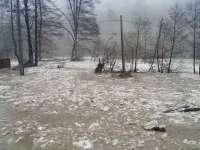 Cod portocaliu de inundații pe râuri din Maramureș până luni la prânz