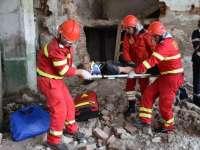 COD ROȘU: Simulare de cutremur de peste 7 grade pe scara Richter la nivel național