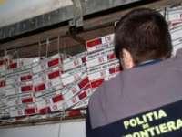 Combaterea contrabandei cu tutun - Controale în trafic, în trenuri dar şi la domiciliul unei bănuite