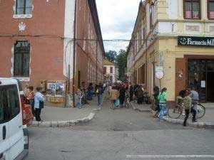 Comercianţii din pieţele din Sighet, verificaţi de poliţişti