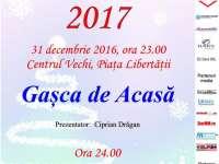 Concert și foc de artificii în noaptea dintre ani, în Baia Mare
