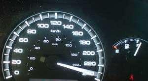 Conducător auto prins cu 225 km/h pe autostrada Transilvania