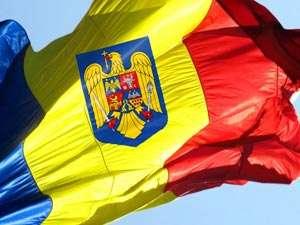 Constituţia revizuită: S-a aprobat introducerea stemei ţării pe drapelul României