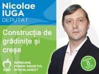 """Construirea de noi creșe și grădinițe, un punct important din cadrul """"Proiectului pentru Sighet"""" al candidatului Iuga Nicolae pentru Camera deputaților (PMP)"""