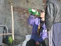Consumul de alcool în loc public = contravenţie