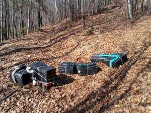 CONTRABANDĂ: Focuri de armă la Valea Vişeului şi ţigări confiscate la Sighetu Marmaţiei