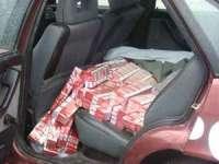 CONTRABANDĂ: Peste 1200 pachete cu ţigări confiscate de poliţiştii maramureşeni