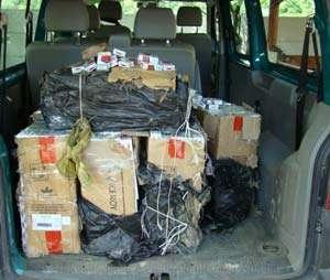 Contrabandiști reținuți cu focuri de armă la frontiera cu Ucraina