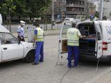 CONTROALE: Starea tehnică a autovehiculelor, verificată de poliţişti împreună cu reprezentanţi ai RAR