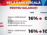 Cota unică de impozitare se va reduce la 10% de la 1 ianuarie 2018