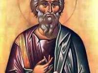 Credincioşii îl prăznuiesc astăzi pe Sfântul Apostol Andrei - ocrotitorul României