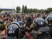 Criza migranților: Slovenia ar putea întări protecția graniței sale cu Croația