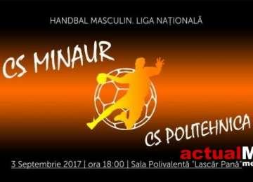 CS Minaur Baia Mare va întâlni duminică pe teren propriu CS Politehnica Iaşi