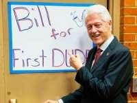 Cum i se va spune lui Bill Clinton dacă soția sa Hillary devine președinte?