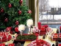 Cum să aranjaţi masa de Crăciun – 10 idei originale