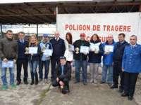 CUPA PRESEI LA TIR - Activitate organizată pentru aniversarea a 165 de ani de la înfiinţarea Jandarmeriei Române