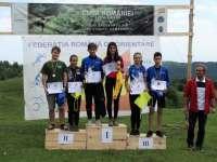 CUPA ROMÂNIEI LA ORIENTARE ÎN ALERGARE – Sportivii băimăreni au urcat de 11 ori pe podium