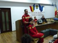 Curs pentru voluntarii SMURD la sediul ISU Maramure
