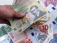Cursul euro-leu, la cel mai mare nivel din ultimii patru ani