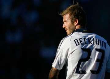 David Beckham se gândește la o revenire pe teren