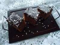 DE POST: Negresă cu nuci și glazură de cacao