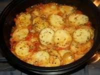 DE SEZON: Cartofi noi cu ardei la cuptor