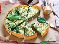 DE SEZON: Tartă cu spanac și brânză