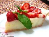 Delicios și de nerefuzat - Tartă cu căpșuni