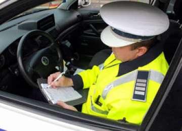 Depăşirea limitei legale de viteză sancţionată de poliţiştii maramureșeni. Patru șoferi au rămas fără permis de conducere