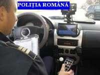 Depistat în trafic cu viteză excesivă şi fără permis de conducere