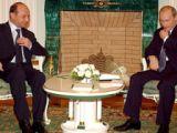 Discuții Traian Băsescu - Vladimir Putin la summitul UE-Asia