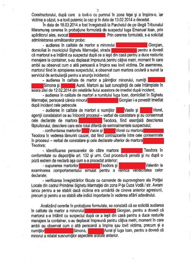 Dosarul Crimei din Cuza Vodă se complică - Câteva întrebări care pun sub îndoială celeritatea cu care s-a intrumentat dosarul