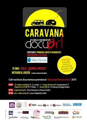 DOCUART - Caravana filmului documentar proiectează la Sighetu Marmației