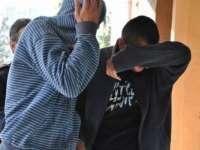 Doi minori de 15 ani cercetaţi de poliţişti sub aspectul comiterii infracţiunii de tâlhărie
