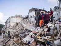 Doi români care furau prin ruinele din Amatrice, arestați de poliția italiană