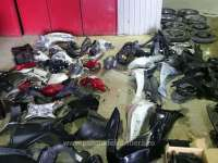 Două motociclete dezmembrate, căutate de autoritățile din Italia, descoperite de polițiștii de frontieră