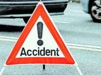 Două persoane rănite în urma unui accident la Strâmtura