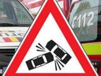 Două persoane rănite într-un accident produs la Moisei