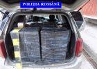 Dragomireşti - Prins în flagrant transportând 7500 pachete de ţigări de contrabandă