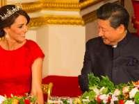 Ducesa de Cambridge l-a fermecat pe președintele chinez, care aproape că a uitat de regină