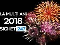 Echipa Sighet247 vă urează un AN NOU FERICIT. La mulți ani 2018!